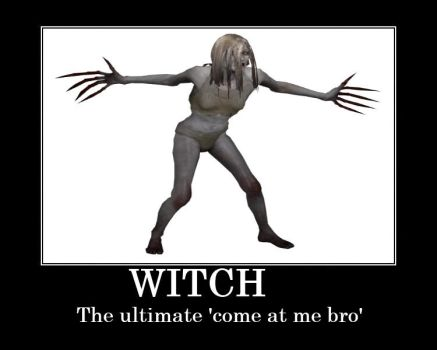 Funny left 4 dead witch by unknowntryhard1
