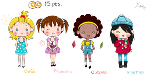 15 points Chibi Adoptables ****CLOSED**** by DoceSonho