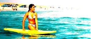 Surfer babe by tori