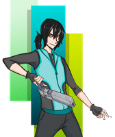 AT: The Turquoise Assassin by Bored-dood