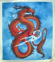 Tote Bag Dragon by psycrowe