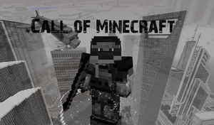 Call of Minecraft wallpaper  [minecraft mod] by MisteriosM