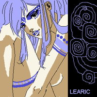 Spiral Blue by Learic