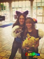 MonsterCon 2013 - Furry Sisters by BlueWaterRose