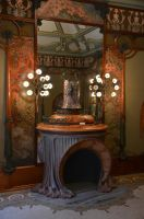 Alphonse Mucha Room by Vinanti
