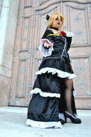 Kagamine Len Imitation Black 0 by HauroCosplay