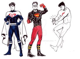 The Superboy(s): Part I by sarah-mcg