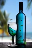 Sea In A Bottle by ThornleyJ