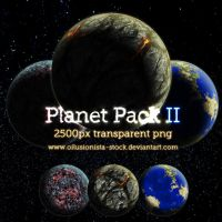 PNG Planet Pack 2 by oilusionista-stock