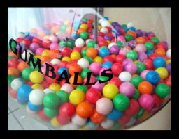 gumballs. by paperthinwalls