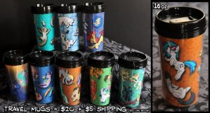 Travel Mugs Promo! by sophiecabra