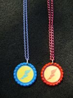 TF2 Team Fortress 2 Scout Deluxe Necklaces by Monostache