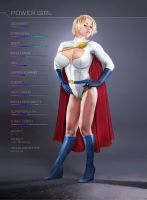 PowerGirl: Stats by ROCINATE