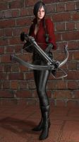 Resident Evil 6 Ada Wong Render by Deluwyrn