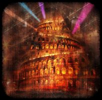 Babel Tower by Godino
