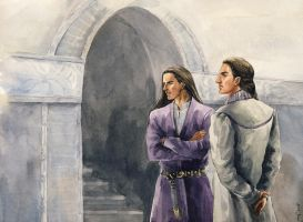 Brothers in Nargothrond by Filat