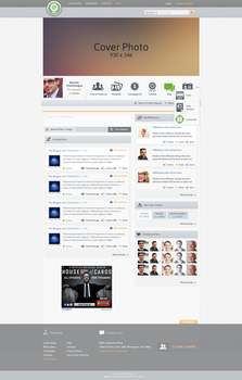 Qme User Profile Page by ahsanpervaiz