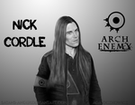 Nick Cordle (Arch Enemy) by satans-anger