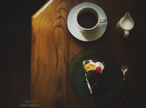Coffee and cake by RioTAngiE