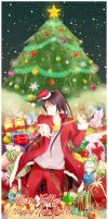Merry X'mas and Happy New Year! by KuKu-Cat
