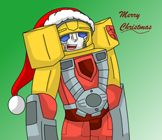 Merry Christmas from hotshot! by SupremeAnimeNinja