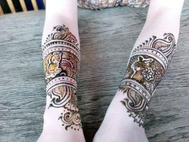 Henna and portraits by cydienne