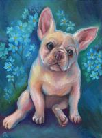 French Bulldog Puppy by TrollGirl