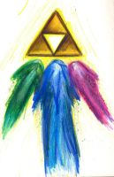 Zelda Triforce by viintage-ecstasy