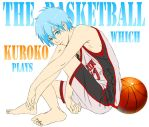 Kuroko. And a basketball. by andungen