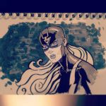 Lady Blackbolt by spacehater