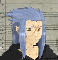 Saix - Kingdom Hearts by RoevChan