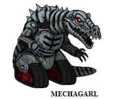 Mechagarl by CosbyDaf