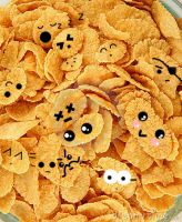 Corn Flake Faces by Autumn02