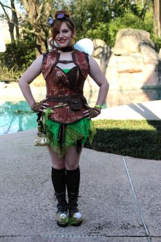 Steampunk Tinker Bell II by CyrialBerry