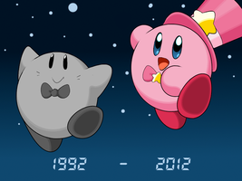 Happy 20th Anniversery Kirby! by Kusamochi