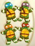 Yummy Ninja Turtles by RockLobstar