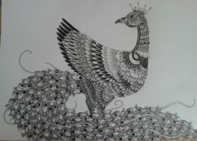 Peacock by Dominica1