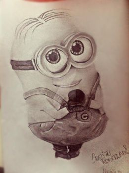 Dave the Minion by NAcaNs