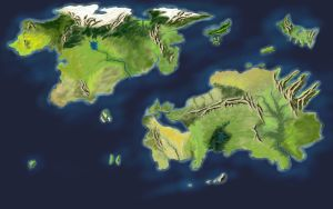 New World Map by desuran
