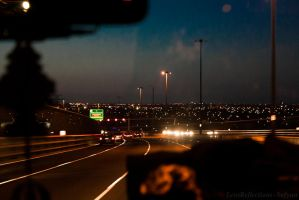 Bright Lights, Big City by LensReflections