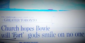 Church Hopes Bowie Will Fart by KeswickPinhead