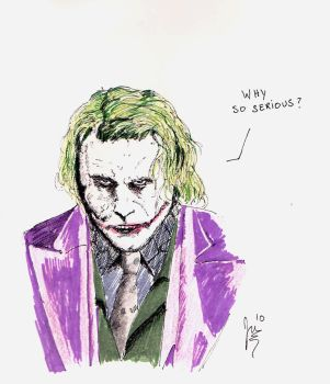 Why so Serious? by Jer101
