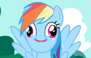 Commission - Rainbow Dash Vector - YEP! by Anxet