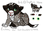 Solideogloria1999 Custom Saber Tooth kitty by Saphia-Xeno