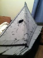 Pyramid Head wip battle damage by AFXtuming
