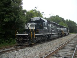 Norfolk Southern 3492 by CNW8646
