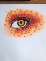 Fiery eye by Excite-Creations