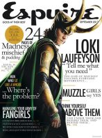 Fake Loki Esquire Cover by HashtagGenius