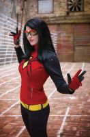Spider-Woman 2 by Yashuntafun