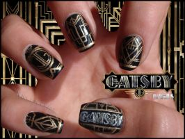The great Gatsby nails by Ninails